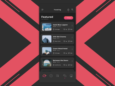 Atlas - Travel App Animation - Finale globe explore travel app interaction design product design invision app ios flat motion design animation ui ux