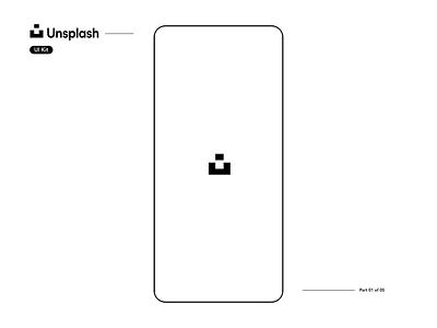 Unsplash UI Kit Showcase - Part 1 of 5 photobug app product design interaction design freebie uikit unsplash ios flat motion design animation ui ux