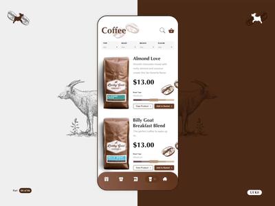 LGC - Coffee App - Part 04 of 06 vector illustration uikit ae sketch vector product design flat typography app ios design motion animation ui ux