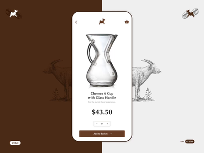 LGC - Coffee App - Part 05 of 06 microinteractions smooth blackcoffee uikit coffee product design interaction design ios app design motion animation ui ux