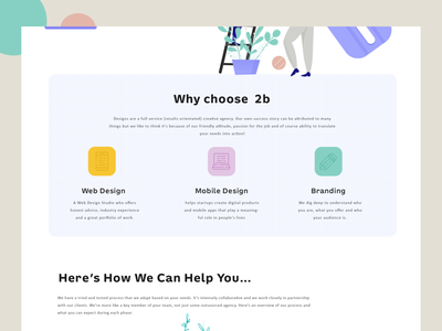 Design Agency web design landing page design creative logo agency character design illustration ui design ui  ux uiux
