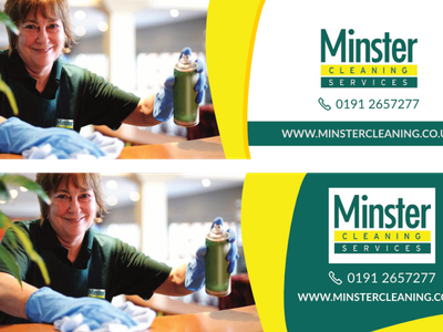Minster Cleaning Services - Concepts banner ad
