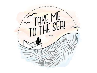 Take me to the sea!