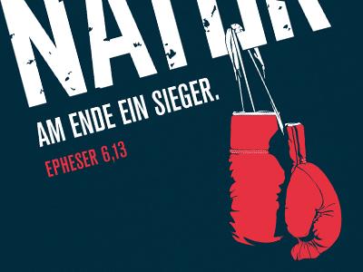 Kaempfernatur boxing dimitrenko iam design poster lettering typeface type boxing gloves