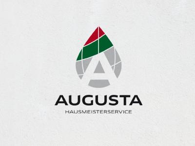 AUGUSTA – facility management iam iam design logodesign logo facility management cembra nut augsburg augusta