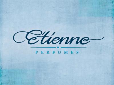 E'tienne – parfumes iam iam design logodesign logo parfume calligraphy
