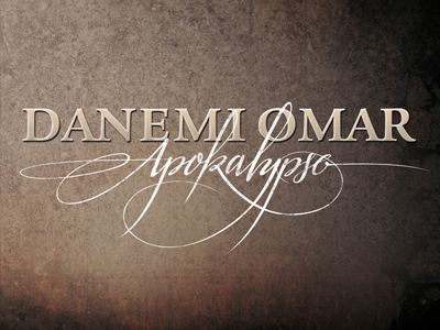 Apokalypse apocalypse lettering typography calligraphy artwork music rap