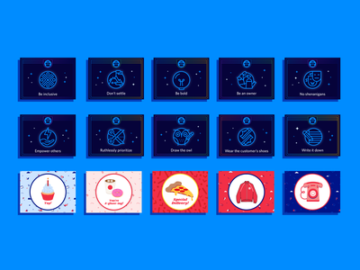 Twilio Recognition Cards - Collect them all! illustration collection special abilities board game cards magic twilio