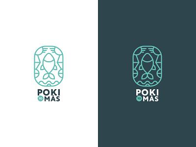 Poki to más, POKE logo branding vector design illustration