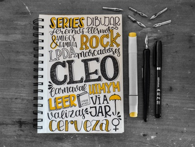 Personal Lettering caligraphy lettering challenge lettering artist lettering art lettering
