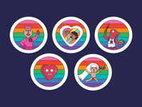 Stickers for Pride
