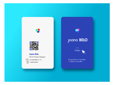 Business card by joana belo dribbble business card reheart Choice Image