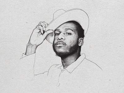 Leon Bridges procreate ipadpro portrait leonbridges
