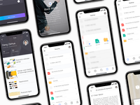 UI design of brand visual image