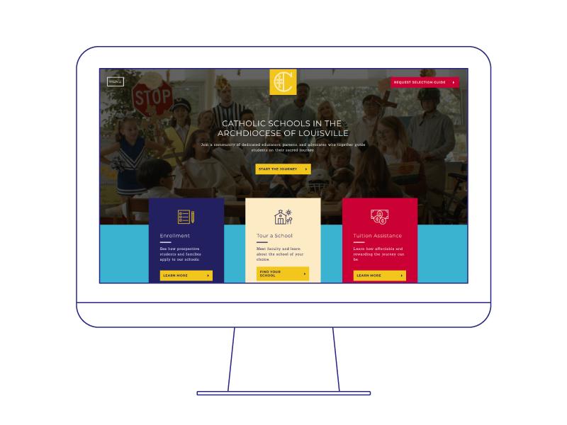 Catholicschools website