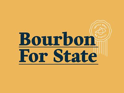 Bourbon For State Logo logo bar milk bourbon for state design bourbon ky louisville kentucky