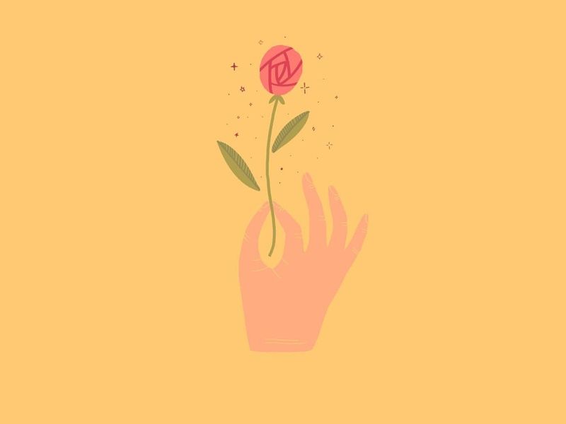 EDERLEZI hand rose ederlezi