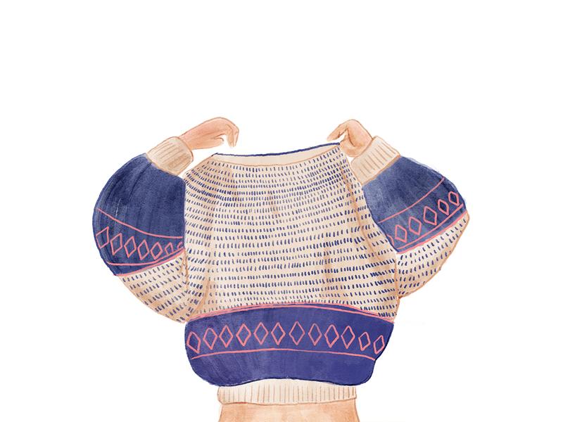 OH cozy cardigan jumper