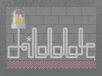 Dribbble - Creative Juices debut lettering illustration fun