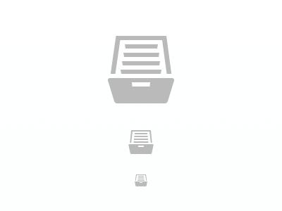 Archive archive instapaper icon glyph
