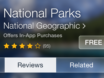 App Store app store ios ios 7 neue