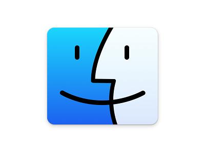Finder finder yosemite mac os x 10.10 icon app