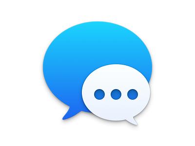 Yosemite Messages yosemite mac os x 10.10 icon messages imessage