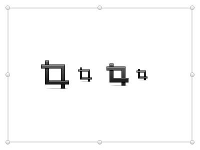 Crop crop icon mac toolbar toolbar icon