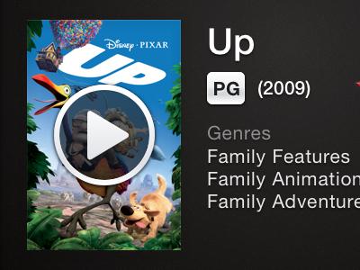 Netflix Mockup Movie Detail netflix iphone app mockup movie sketch wip