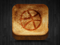 Toasted dribbble
