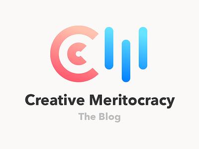Creative Meritocracy Blog (Logo) social media creative meritocracy writing blog logo