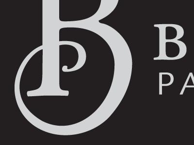 B/P logotype logotype logo typography