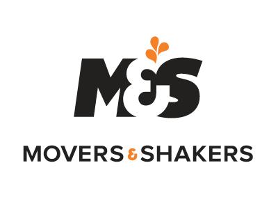M&S concept negative space logo