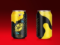 """Student project - Redesign """"7up"""" limited edition can"""