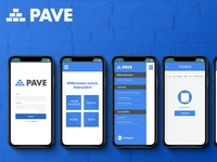 """Test project -""""PAVE GROUP"""" - icons/mobapp design"""