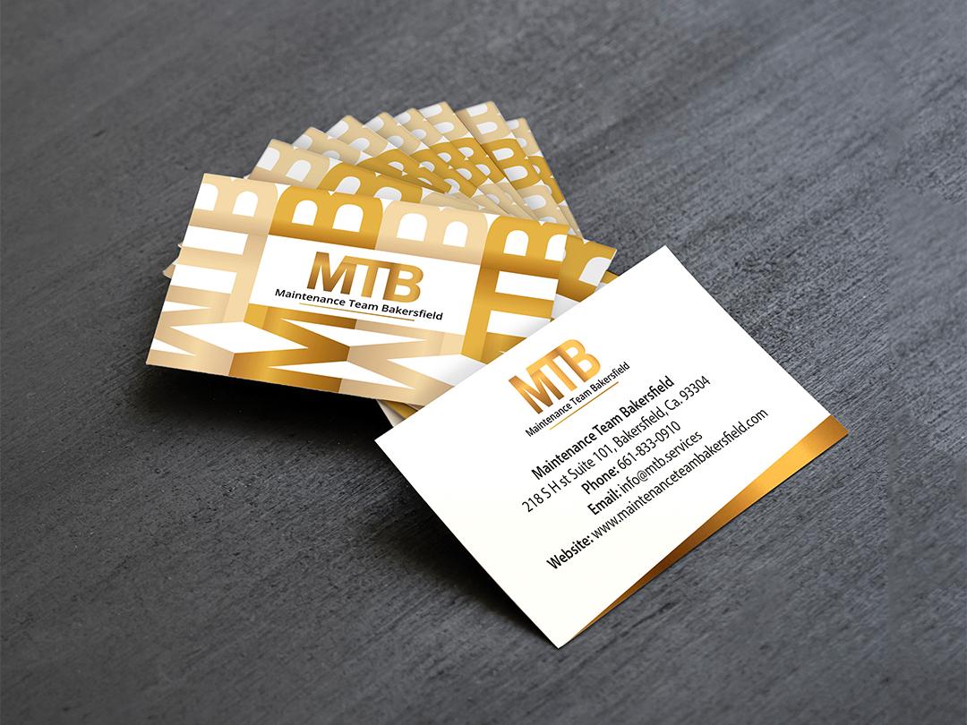 """Logo design & business card design for """"MTB"""" - US company typgraphy designers graphicdesigners graphicdesign mtb prestige elegant gold logo logodesign design businesscard"""
