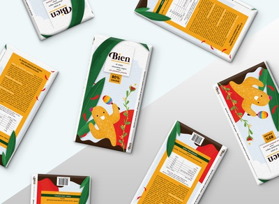 Packaging dsign for my fictional chocolate brand