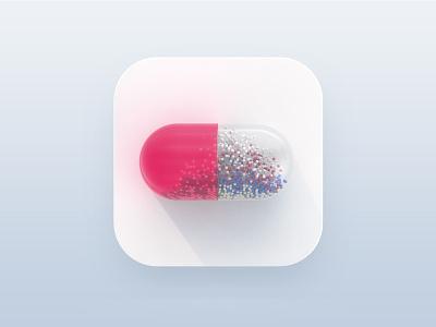 Take a smart capsule capsule drug ui icon ui 3dicon icon 3d