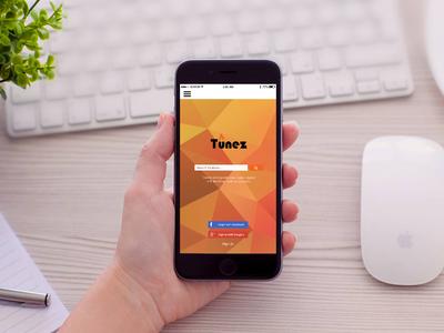 Tunez Mobile App UI Design