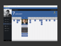 Nextgen Calendar UI