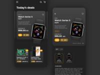 Daily #012 - Single product page e-commerce app e-commerce product page ecommerce mobile ui modern app adobe xd dailyui ux ui