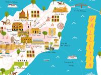 Map of Valletta