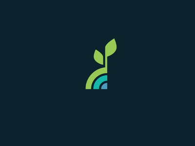 Leaf Logo nature logo environmental logo nonprofit logo loan logo brand vector branding design branding illustration icon flower plant growing growth leaf logo design logo