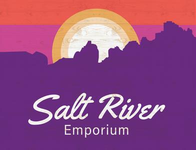 Salt River Emporium Logo and Wall Graphic