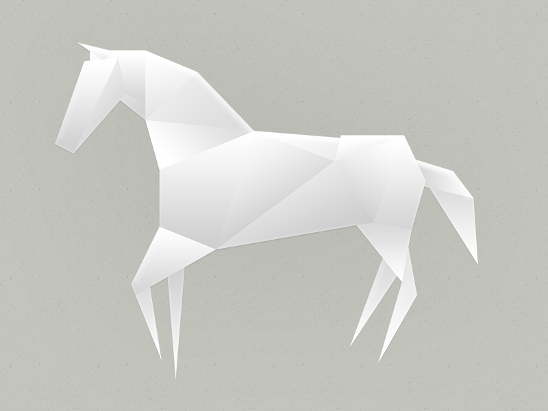 Origami Horse By Dai Inami Dribbble