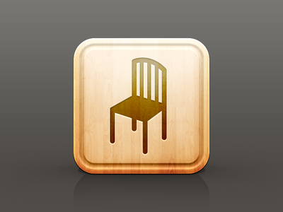 Chair - Restaurant icon series (1/3)