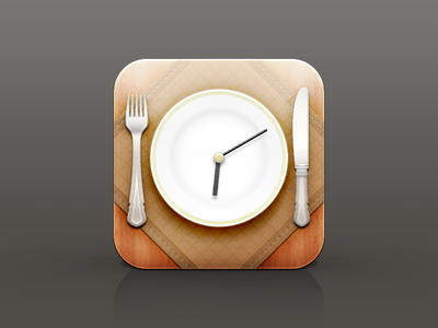 Clockwork Dish - Restaurant icon series (2/3)