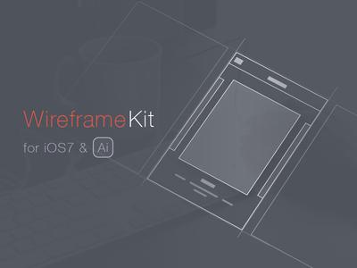 Wireframe Kit Freebie [Ai]
