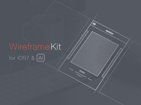 Wireframe Kit Freebie [Ai]
