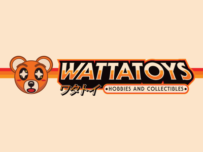 Wattatoys illustration vector type design logo branding